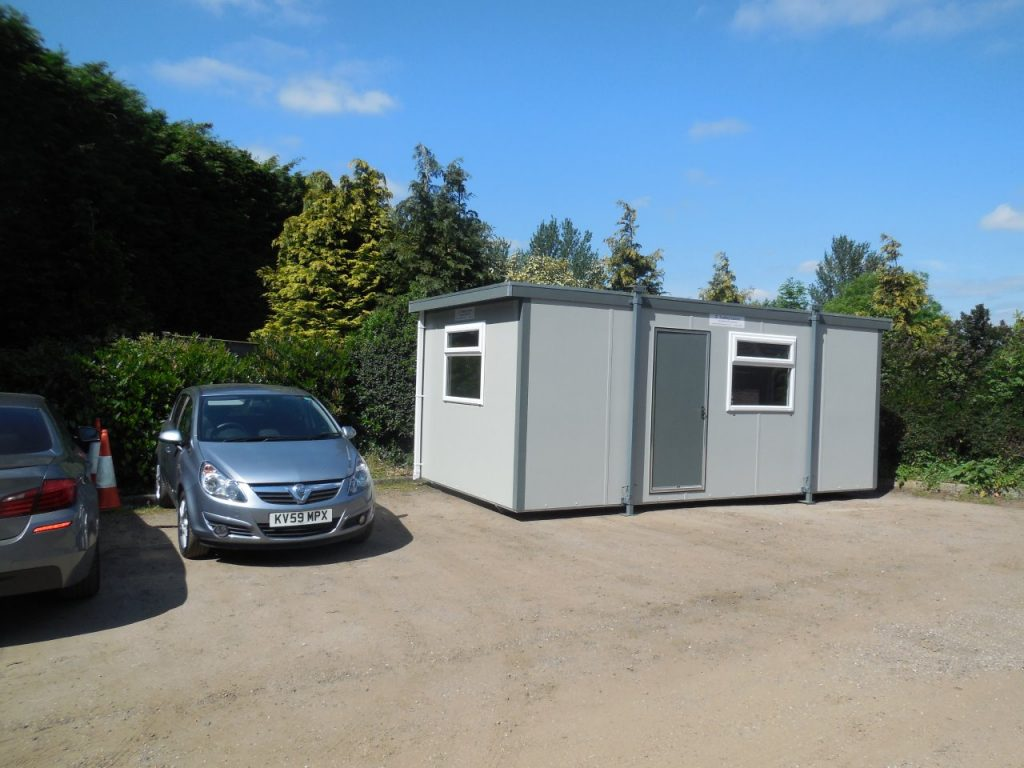 Portable cabins, Portable offices for hire and sale, Trading Spaces, Essex