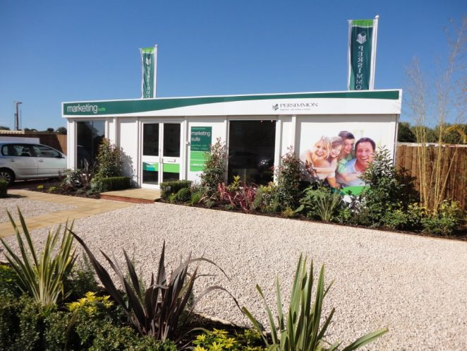 Portable marketing suites, executive offices and sales office for property developments for sale and hire in UK