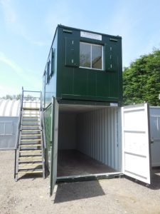 Portable office and storage solutions for Construction & building sites - Trading Spaces Essex