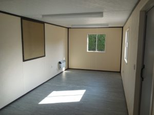 Interior of Anti-Vandal office available to hire from Trading Spaces