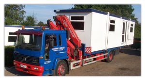Delivery of your portable office or mobile building - Trading Spaces