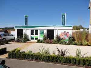 portable marketing suite for property development sites from Trading Spaces Essex