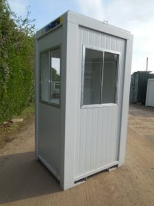 4 x 4 Guard hut, to hire or buy at Trading Spaces, Essex, UK