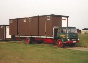 Trading Spaces moving portable offices in the late 1970's